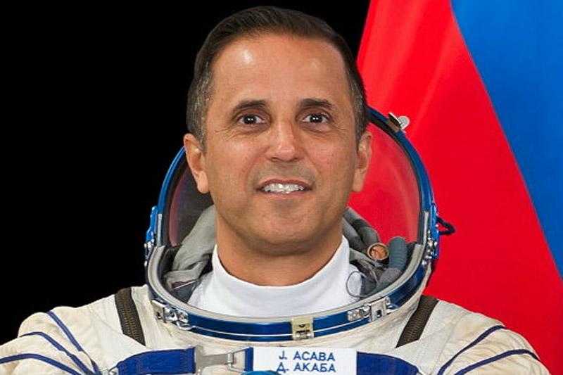 Встреча американского космонавта со студентами Политеха