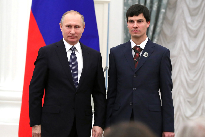 Премии Президента РФ в области науки и инноваций для молодых учёных за 2018 год