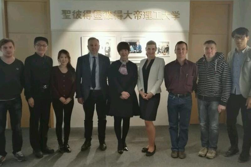 Встреча с дирекцией Шанхайского Института Микроэлектроники Пекинского Университета