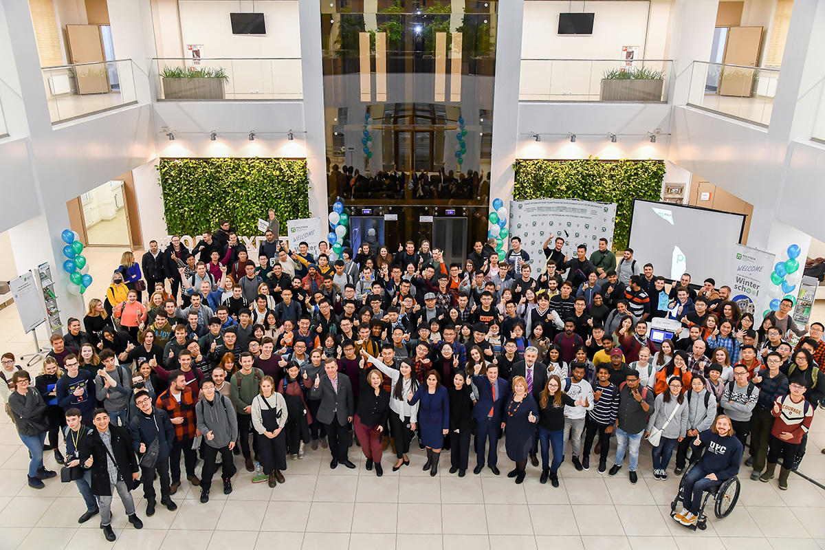 Polytechnic International Winter School Brought Together 300 Participants from all over the World