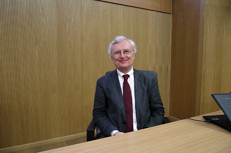 Professor Wolfgang E. Ernst (TU Graz): 'My office door is always open to students!'