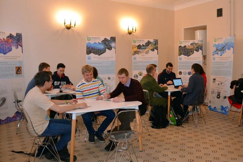 Пространство коворкинга для студентов ИФНиТ во втором учебном корпусе!