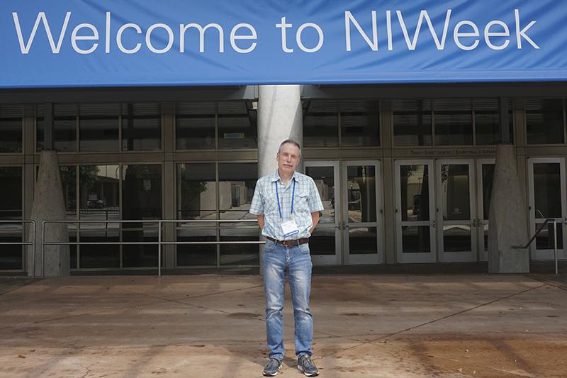 Наши студенты и сотрудники на конференции NIWeek 2018 в Техасе