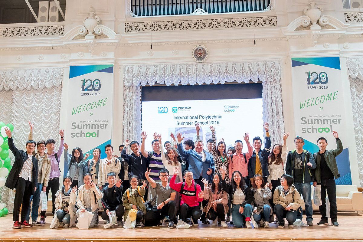 The International Polytechnic Summer School 2019: the Grand Opening Ceremony