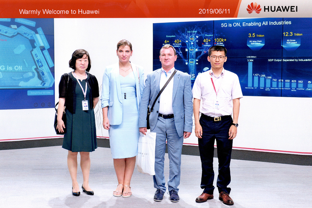 In touch with world leaders: Polytech develops partnership with Huawei