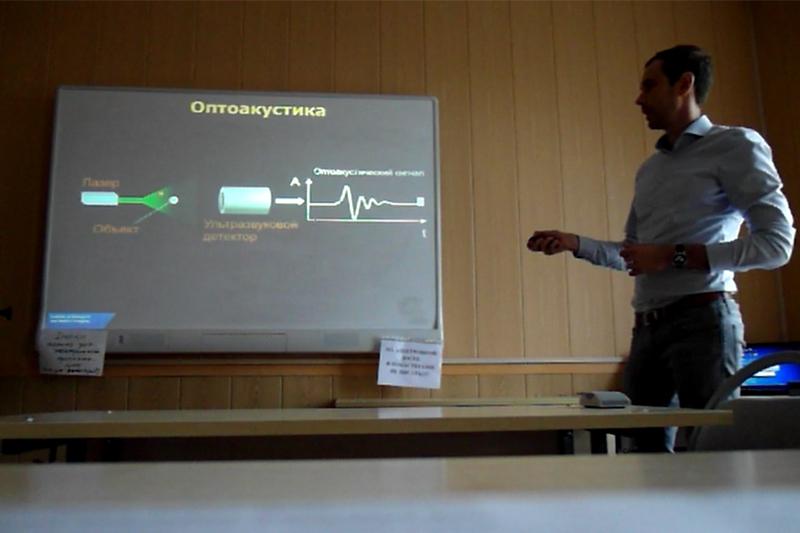 В ИФНиТ прошла лекция и семинар преподавателя из Технического университета Мюнхена Дмитрия Божко