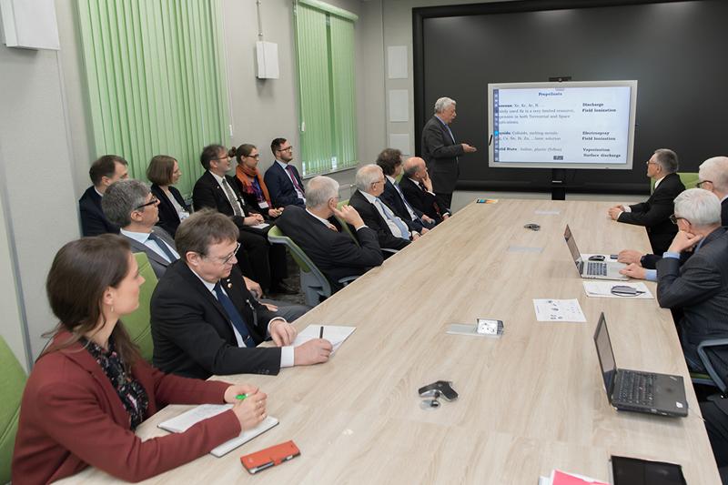 Делегация Германского центра авиации и космонавтики посетила СПбПУ