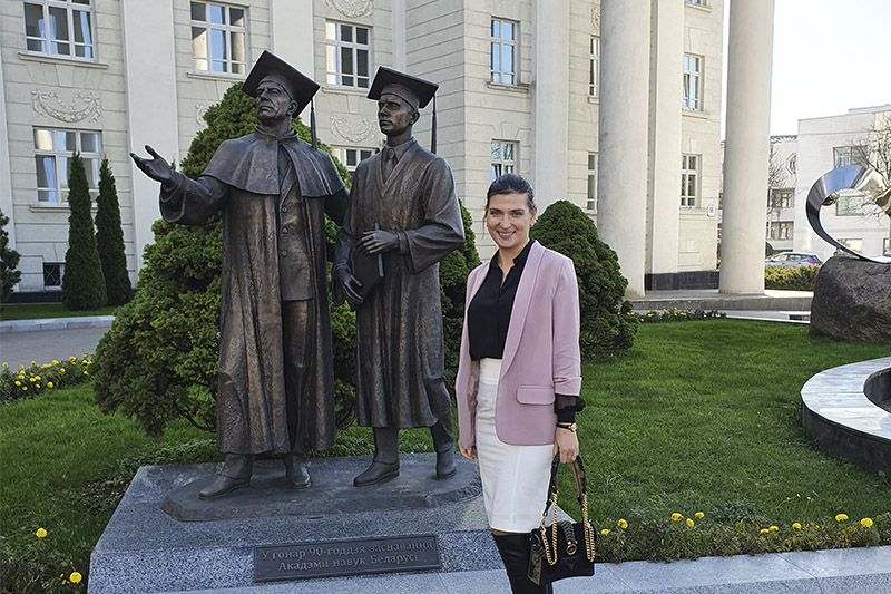 Лаборатория «СВН» укрепляет отношения Политеха и Академии Наук Белоруссии
