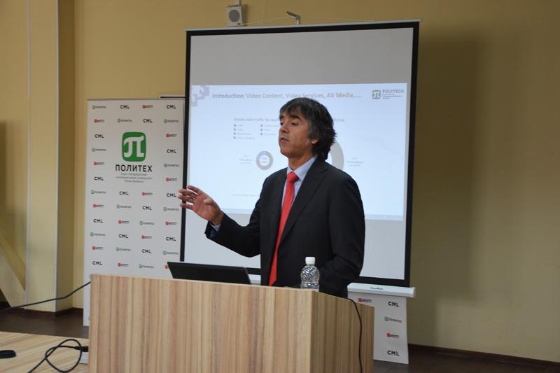Лекции проф. Пабло Ангьера (Испания) в СПбПУ