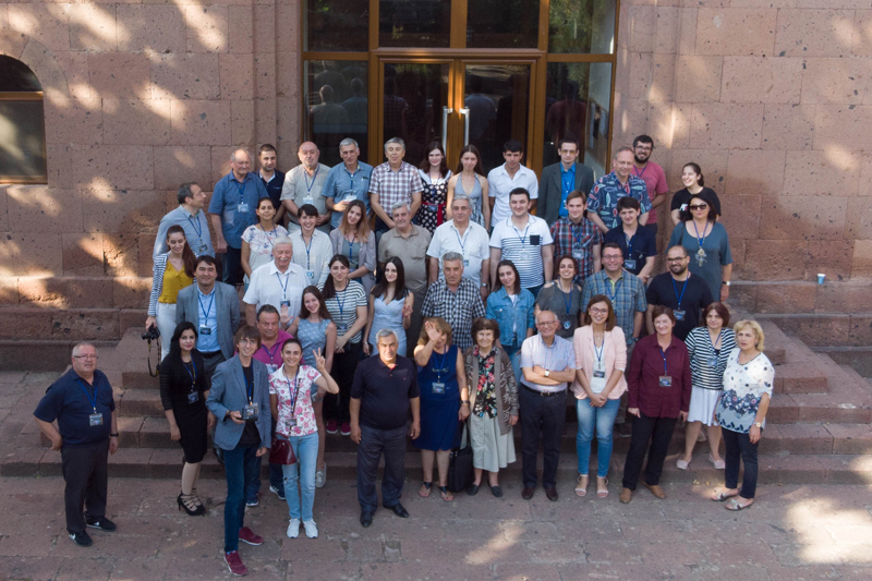 Joint international conference on astrophysics for young scientists in Armenia