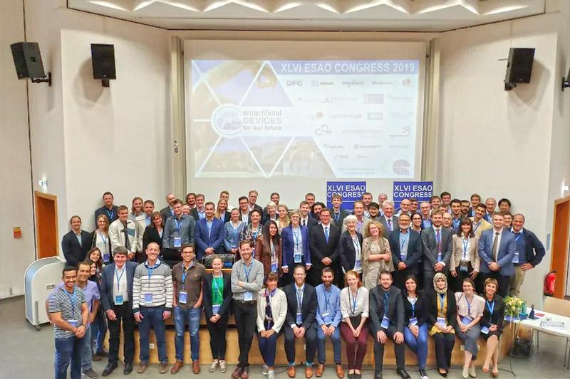Капралова Виктория Маратовна посетилаконгресс Европейского общества искусственных органов