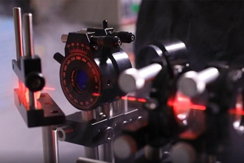 О работе научной группы лазерной фотометрии и спектроскопии рассказали в сюжете канала Санкт-Петербург