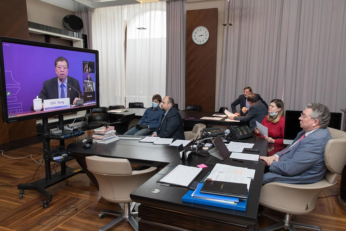 Руководство ВШПФиКТ приняло участие в международном семинаре о переходе к онлайн-образованию