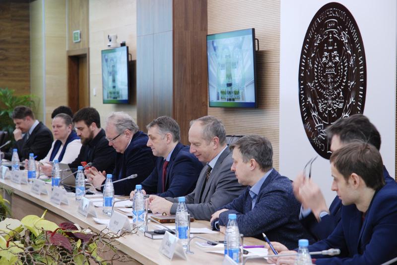 Встреча с представителями АО «Русатом Автоматизированные системы управления»